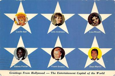 act500781 - Greetings from Hollywood Movie Poster Postcard