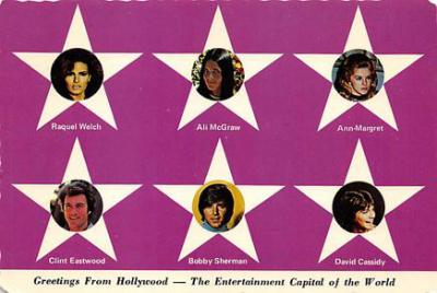 act500787 - Greetings from Hollywood Movie Poster Postcard
