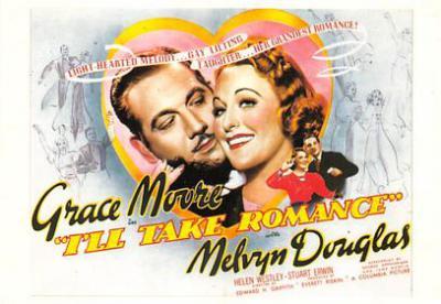 act500795 - I'll Take Romance Movie Poster Postcard