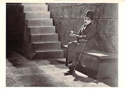 act500797 - Charlie Chaplin Movie Poster Postcard