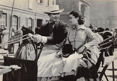 act500807 - Gone With the Wind Movie Poster Postcard