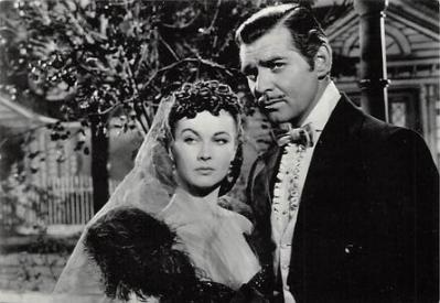 act500811 - Gone With the Wind Movie Poster Postcard