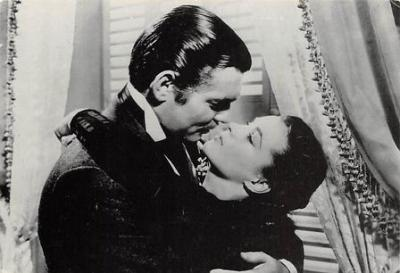 act500829 - Gone With the Wind Movie Poster Postcard