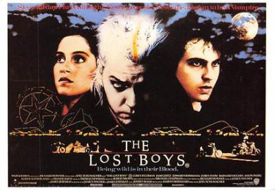 act500833 - The Lost Boys Movie Poster Postcard