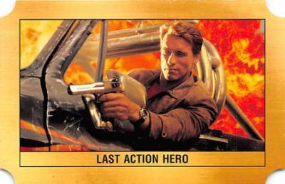 act500857 - Arnold Schwarzenegger Movie Poster Postcard