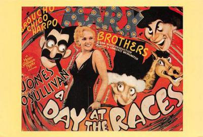 act500911 - The Marx Brothers Movie Poster Postcard