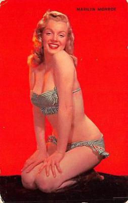 act510019 - Marilyn Monroe Movie Poster Postcard