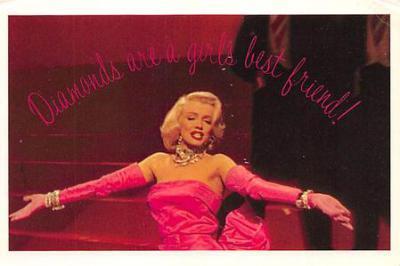 act510037 - Marilyn Monroe Movie Poster Postcard