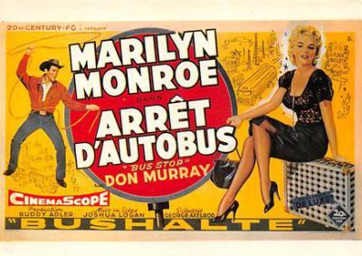 act510039 - Marilyn Monroe Movie Poster Postcard