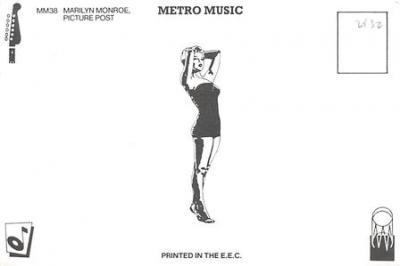 act510073 - Marilyn Monroe Movie Poster Postcard  back
