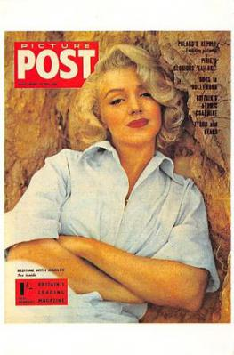 act510085 - Marilyn Monroe Movie Poster Postcard