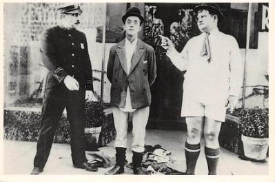 act520021 - Laurel and Hardy Movie Poster Postcard