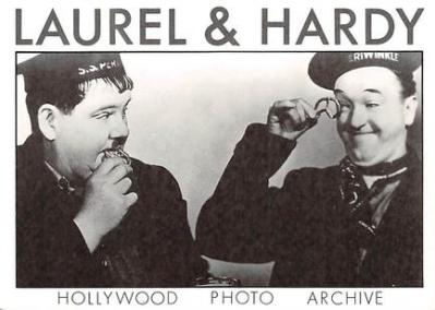 act520063 - Laurel and Hardy Movie Poster Postcard