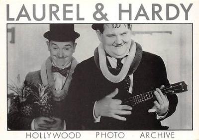 act520065 - Laurel and Hardy Movie Poster Postcard