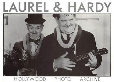 act520069 - Laurel and Hardy Movie Poster Postcard