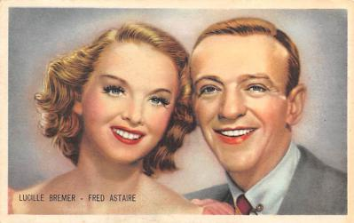 act_001048 - Lucille Bremer & Fred Astaire Trade Card