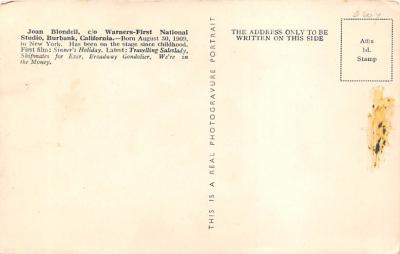 act002041 - Joan Blondell  back