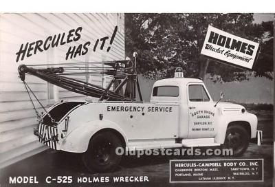 model C-525 Holmes Wrecker