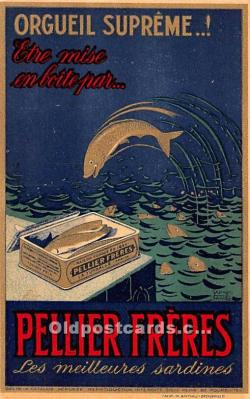 Orgueil Supreme, Pellier Freres, Advertising Postcard Post Card
