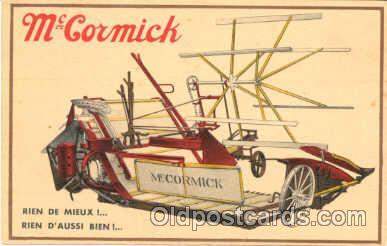adv001169 - McCormick Tractors Advertising Postcard Post Card