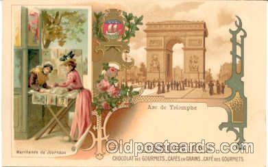 adv001191 - Chocolat Des Gourmets Advertising Postcard Post Card