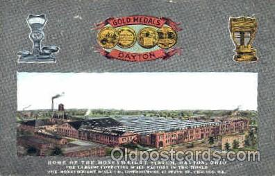 adv001333 - Home of the Money Weight System, Dayton, Ohio USA, Advertising Postcard Post Card
