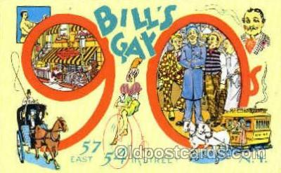 Bills Gay Nineties, New York NY USA