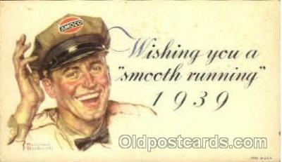 Amoco, Artist Norman Rockwell