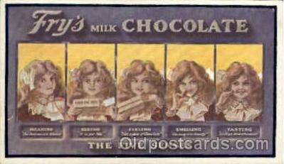 adv001456 - Fry's Milk Chocolate Advertising Postcard Post Card