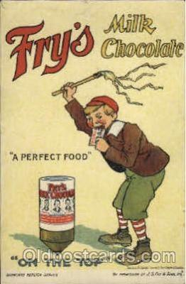 adv001473 - Fry's Milk Chocolate Advertising Postcard Post Card