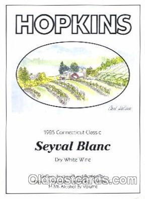 Dry White Wine, Hopkins, Warren, CT USA