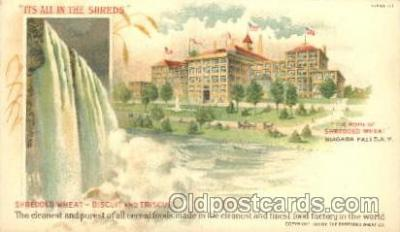 Shredded wheat, Niagara Fall, New York, N.Y., USA