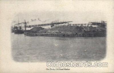 adv001695 - Ore Docks Cleveland Harbor Advertising Post Card Post Card