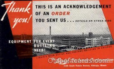 adv001725 - Liquid Carbonic Corporation Advertising Post Card Post Card
