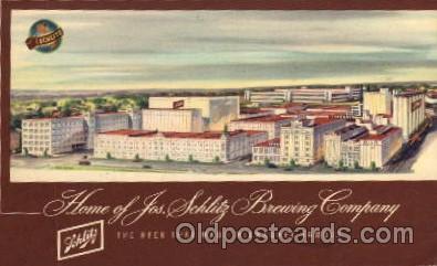 adv001728 - Jos. Schlitz Brewing Company Advertising Post Card Post Card