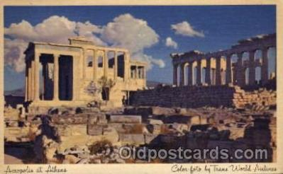 adv001746 - Acropolis Ahtens, Greece Advertising Post Card Post Card