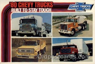 adv001768 - Chevy Trucks Advertising Post Card Post Card