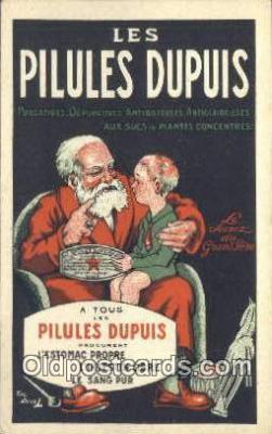adv001839 - Les Pilules Dupuis Advertising Postcard Post Card