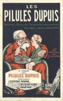 adv001849 - Les Pilules Dupuis  Advertising Postcard Post Card