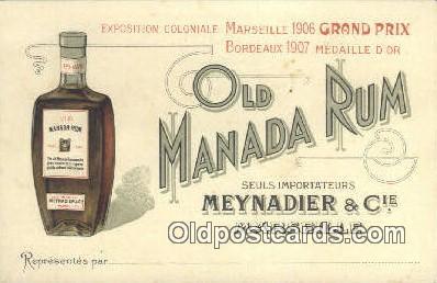 Old Manada Rum