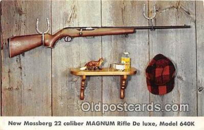 New Mossberg 22 Caliber Magnum Fifle De Luxe