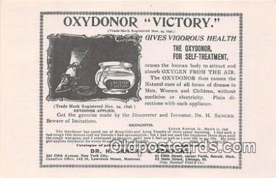 Oxydonor Victory, Dr H Sanche & Company