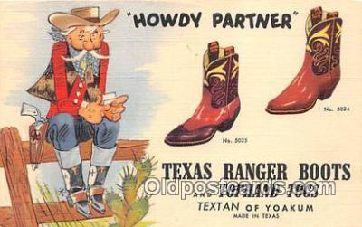 Texas Ranger Boots