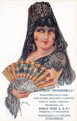 adv002334 - Advertising Postcard - Old Vintage Antique