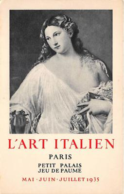 LArt Italien Paris