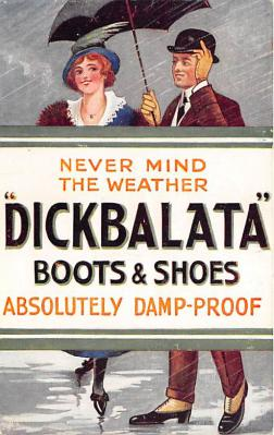 Never Mind the Weather Dickbalata Boots & Shoes