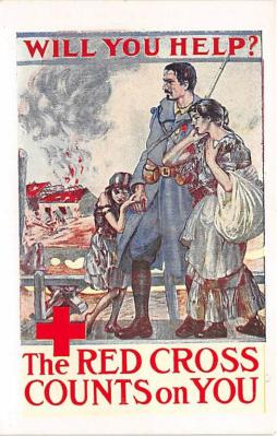 Will You Help Red Cross Counts on You
