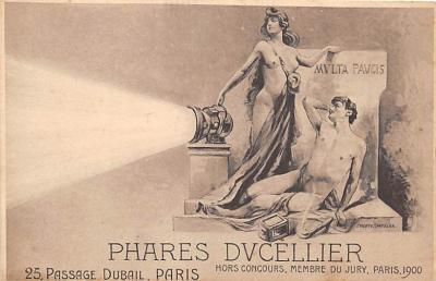 Phares Dvcellier Paris 1900