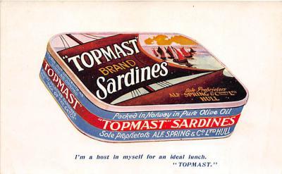Topmast Brand Sardines