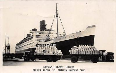 Britains Largest Millers Deliver Flour to Britains Largest Ship